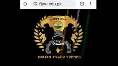Fatima Jinnah Women University Website Hacked: भारतीय स्वतंत्रता दिवस पर पाकिस्तानी वेबसाइट हैक, हैकर्स ने लिखा, 'रामलला हम आएंगे, मंदिर कराची-लाहौर में भी बनाएंगे'
