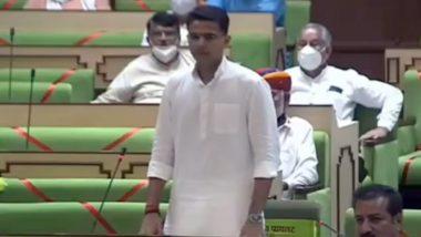 Rajasthan Political Crisis: विधानसभा में सीट चेंज को लेकर बोले सचिन पायलट, मैं जब तक बैठा हूं, सरकार सुरक्षित है