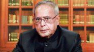 Pranab Mukherjee Health Update: पूर्व राष्ट्रपति प्रणब मुखर्जी की हालत में सुधार नहीं, लाइफ सपोर्ट सिस्टम पर मौजूद पिता के लिए बेटी शर्मिष्ठा मुखर्जी ने भगवान से की ये प्रार्थना