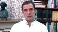 Rahul Gandhi Attacks Modi Govt on Economy: देश की गिरती अर्थव्यवस्था को लेकर राहुल गांधी का केंद्र पर तंज, कहा- मोदी है तो मुमकिन है