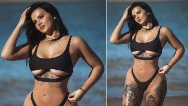 XXX Pornstar Renee Gracie Hot Pics: पोर्नस्टार रेनी ग्रेसी ने Instagram पर लगाई अपनी नई प्रोफाइल फोटो, सेक्सी अंडर गारमेंट्स पहनी आई नजर