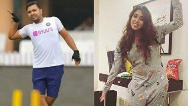 Rohit Sharma ने पत्नी Ritika Sajdeh के साथ इंस्टाग्राम पर शेयर की क्यूट तस्वीर, कहा- दो अजीब लोग प्यार में हैं