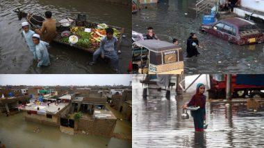 Flood in Pakistan: पाक में बारिश से बाढ़ जैसे हालत, कई लोगों की गई जान, इमरान सरकार के दावे हुए फेल