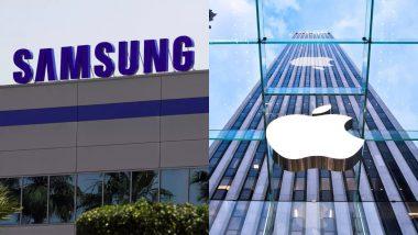 सैमसंग स्क्रीन के साथ फोल्डेबल फोन पर काम कर रहा है एप्पल: रिपोर्ट