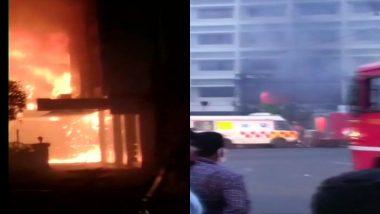 Fire Breaks Out at COVID-19 care centre in Vijayawada: आंध्र प्रदेश में विजयवाड़ा के कोविड सेंटर में लगी भीषण आग, अबतक 7 की मौत, बचाव कार्य जारी