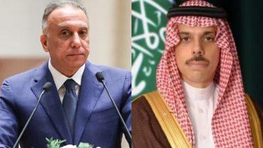 सऊदी अरब और इराक के बीच द्विपक्षीय संबंधों को लेकर हुई बातचीत
