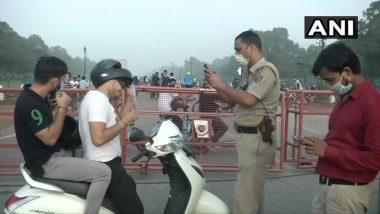 Delhi Police Issue Challans: राजधानी में मास्क पहने बिना यात्रा कर रहे लोगों के खिलाफ कार्रवाई, दिल्ली पुलिस ने काटे चालान