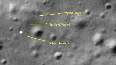 Chandrayaan-2: रोवर प्रज्ञान चंद्रमा की सतह पर मौजूद, नासा की नई तस्वीरों से चंद्रयान-2 मिशन को लेकर बढ़ी भारत की उम्मीदें