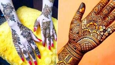 Krishna Janmashtami 2020 Latest Mehndi Designs: कृष्ण जन्माष्टमी पर मेहंदी रचाकर बढ़ाएं अपने हाथों की शुभता, इन लेटेस्ट खूबसूरत डिजाइन्स से बनाएं जन्मोत्सव को खास