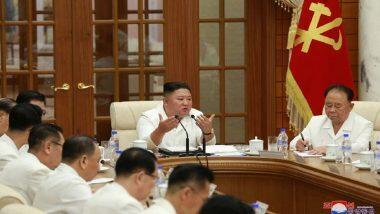 Kim Jong Un Alive? उत्तर कोरिया ने तानाशाह किम जोंग उन का शेयर किया तस्वीर, अधिकारियों के साथ  Typhoon Bavi और कोरोना महामारी पर बैठक करते आए नजर