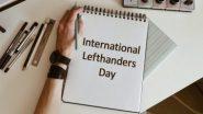 International Lefthanders Day 2020: लेफ्ट हैंडर्स के लिए बेहद खास है यह दिन, जानें इसका इतिहास, महत्व और इस दिवस से जुड़े रोचक तथ्य