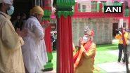 Ram Mandir Bhumi Pujan: हनुमान गढ़ी मंदिर के प्रधान पुजारी ने पीएम मोदी को भेंट की पगड़ी, चांदी का मुकुट और शॉल: 5 अगस्त 2020 की बड़ी खबरें और मुख्य समाचार LIVE