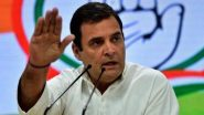 राहुल गांधी ने  केंद्र से पूछा सवाल, भारत सरकार का झूठ और खोखले नारों वाला सबसे कुशल मंत्रालय कौन सा?
