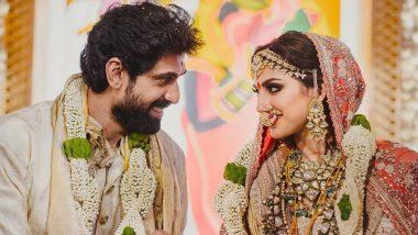 Rana Daggubati And Miheeka Bajaj's Wedding: शादी के बंधन में बंधे राणा दग्गुबाती और मिहिका बजाज, देखिए इनसाइड Photos and Video