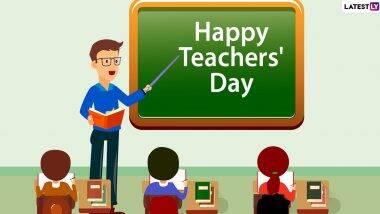 NATIONAL TEACHERS DAY 2021: 5 सितंबर को ही क्यों मनाया जाता है राष्ट्रीय शिक्षक दिवस? जानें शिक्षक दिवस का इतिहास एवं महत्व!