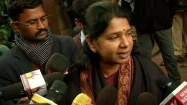 DMK MP Kanimozhi-CISF Official Spar Over Hindi: सीआईएसएफ अधिकारी ने हिंदी में किया सवाल तो DMK नेता कनिमोझी ने जताई आपत्ति, सियासत भी हुई शुरू