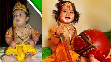 Janmashtami 2020 Dress Ideas: कृष्ण जन्माष्टमी पर छोटे बाल गोपाल और राधा के रूप में अपने बच्चों को ऐसे करें तैयार, देखते रह जाएंगे सब