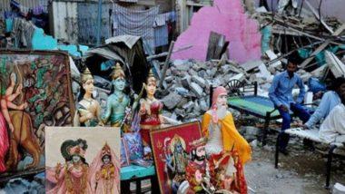 पाकिस्तान ने कराची में हनुमान मंदिर और हिंदू घरों को किया ध्वस्त, पुलिस ने जांच कर इलाके को किया सील