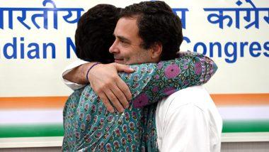 Raksha Bandhan 2020: राहुल गांधी ने देशवासियों को दी रक्षा बंधन की शुभकामनाएं, बहन प्रियंका के साथ इस बेहद खास तस्वीर को किया शेयर
