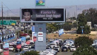 Sushant Singh Rajput Case: अमेरिका में लगा सुशांत को इंसाफ दिलाने का पोस्टर, बहन श्वेता सिंह कीर्ति ने शेयर की फोटो