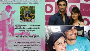 Sushant Singh Rajput: श्वेता सिंह कीर्ति ने 15 अगस्त के मौके पर रखी ग्लोबल प्रेयर, अंकिता लोखंडे ने भी लोगों से जुड़ने की अपील की