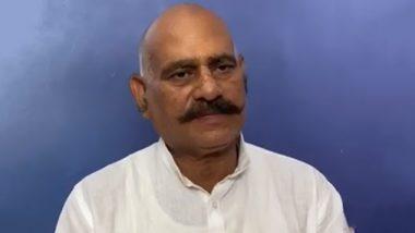 यूपी: भदोही के बाहुबली विधायक Vijay Mishra को सता रहा है मौत का डर, वीडियो जारी कर कहा- पुलिस कभी भी कर सकती है  मेरा एनकाउंटर