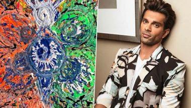 करण सिंह ग्रोवर ने स्वतंत्रता को परिभाषित करके के लिए पेंटिंग बनाई