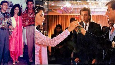 29 Years of Saajan: माधुरी दीक्षित की फिल्म 'साजन' के पूरे हुए 29 साल, एक्ट्रेस ने संजय दत्त और सलमान खान संग शेयर की ये यादगार फोटो