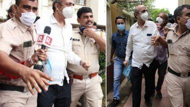 Sushant Singh Rajput Case: रिया चक्रवर्ती के पिता इंद्रजीत को ED पूछताछ के लिए पुलिस टीम अपने साथ ले गई