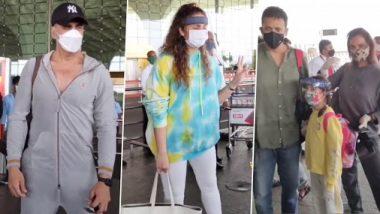 Bell Bottom: अक्षय कुमार, हुमा कुरैशी और लारा दत्ता फिल्म 'बेलबॉटम' की शूटिंग के लिए हुए रवाना, देखें Video