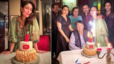 Kareena Kapoor Birthday Photos: बॉलीवुड की 'बेबो' करीना कपूर ने धूमधाम से मनाया अपना 40वां जन्मदिन, देखें सेलिब्रेशन की ये फोटोज