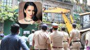 कंगना रनौत की प्रॉपर्टी पर बीएमसी द्वारा की गई तोड़क कार्रवाई को बॉम्बे हाई कोर्ट ने बताया गलत