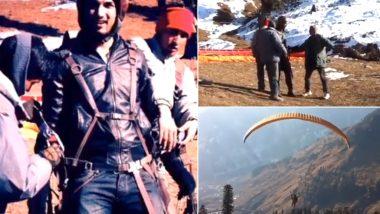 Sushant Singh Rajput Paragliding Video: सुशांत सिंह राजपूत हैरतंगेज स्टाइल में करते दिखे पैराग्लाइडिंग, अंकिता लोखंडे ने शेयर किया वीडियो