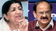 Lata Mangeshkar Tweetsfor M Venkaiah Naidu: कोरोना से संक्रमितउपराष्ट्रपति एम वेंकैया नायडू के लिए लता मंगेशकर ने की प्रार्थना, पढ़ें ट्वीट