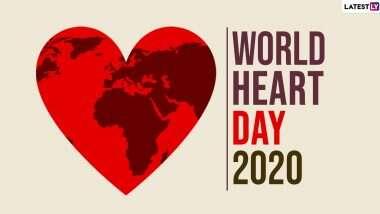 World heart day 2020: 'समय पर व्यायाम और पौष्टिक खानपान जरूरी'