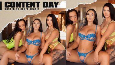 XXX Pornstar Renee Gracie Photos: रेनी ग्रेसी ने Onlyfans के पोर्नस्टार्स संग पोस्ट की बेहदसेक्सी पिक्चर, हॉट अंडर गारमेंट्स पहनकर मचाया बवाल