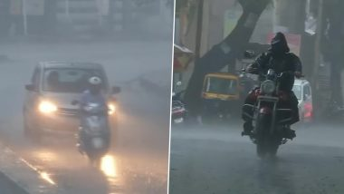 Monsoon 2020 Update: पुणे में भारी बारिश, मौसम विभाग के अनुसार अगले 6 दिनों तक हल्की बारिश के साथ बादल छाए रहने की संभावना