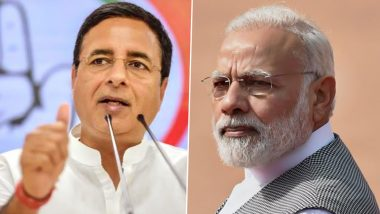 Randeep Surjewala Attacks Modi Govt: रणदीप सुरजेवाला ने केंद्र पर साधा निशाना, कहा-'एक्ट ऑफ फ्रॉड' से अर्थव्यवस्था को डुबोने वाली मोदी सरकार अब इसका जिम्मा 'एक्ट ऑफ गॉड' बता रही है