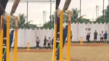 S. Sreesanth अपने पुराने अंदाज में आए नजर, बच्चों को दी गेंदबाजी की स्पेशल टिप्स, देखें वीडियो