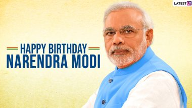 PM Narendra Modi 70th Birthday:  प्रधानमंत्री नरेंद्र मोदी के जन्मदिन के जन्मदिन के मौके पर भेजें ये मैसेज और WhatsApp Stickers