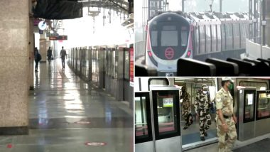 Delhi Metro Rail Corporation शुरू होने के 9 दिनों बाद 2 हजार से अधिक यात्रियों पर मास्क न पहनने पर लगाया जुर्माना