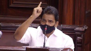 KC Venugopal on Adani Group: देश के 6 हवाई अड्डों की देखरेख अडानी ग्रुप को देने का मामला कांग्रेस ने राज्यसभा में उठाया, केसी वेणुगोपाल ने कहा-सरकार ने नियमों की अनदेखी की