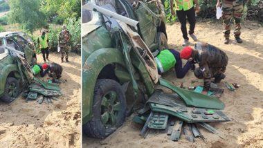 Rajasthan: सड़क हादसे में सेना के दो बड़े अधिकारियों की मौत, अन्य दो बुरी तरह से घायल