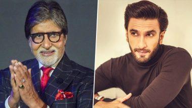 Amitabh Bachchan KBC 12: अमिताभ बच्चन ने शेयर की 'कौन बनेगा करोड़पति 12' के सेट की फोटो तो रणवीर सिंह ने कर दिया ऐसा कमेंट!