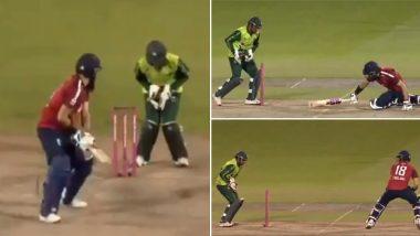ENG vs PAK 3rd T20 Match 2020: इंग्लैंड बनाम पाकिस्तान मैच के दौरान इस बड़ी गलती की वजह से सरफराज अहमद को सोशल मीडिया पर किया जा रहा है जमकर ट्रोल, देखें वीडियो