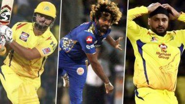 IPL 2020 Update: सुरेश रैना-लसिथ मलिंगा और हरभजन सिंह नहीं लेंगे आईपीएल 13 में भाग, ये खिलाड़ी भी नहीं होंगे शामिल, इन युवाओं को मिलेगा मौका, पढ़ें पूरी लिस्ट