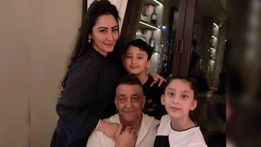 Sanjay Dutt: कैंसर से पीड़ित संजय दत्त ने दुबई में अपने बच्चों से की मुलाकात, पत्नी मान्यता दत्त ने शेयर की ये फैमिली फोटो