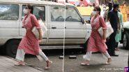 Sara Ali Khan Arrives at NCB Office: सारा अली खान बेहद कॉन्फिडेंट अंदाज में पहुंची NCB के दफ्तर, दीपिका पादुकोण-श्रद्धा कपूर से चल रही पूछताछ, देखें Photos
