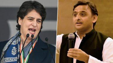 Priyanka Gandhi and Akhilesh Yadav Attacks BJP Govt: प्रियंका गांधी और अखिलेश यादव का बीजेपी सरकार पर तंज, एसपी चीफ बोले-दंभी सत्ता के दिन अब बचे हैं चार