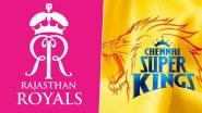 RR vs CSK, IPL 2020 Live Cricket Streaming: राजस्थान रॉयल्स के साथ चेन्नई सुपर किंग्स का जबरदस्त मुकाबला, इस दिलचस्प मैच को Disney+Hotstar पर देखें लाइव